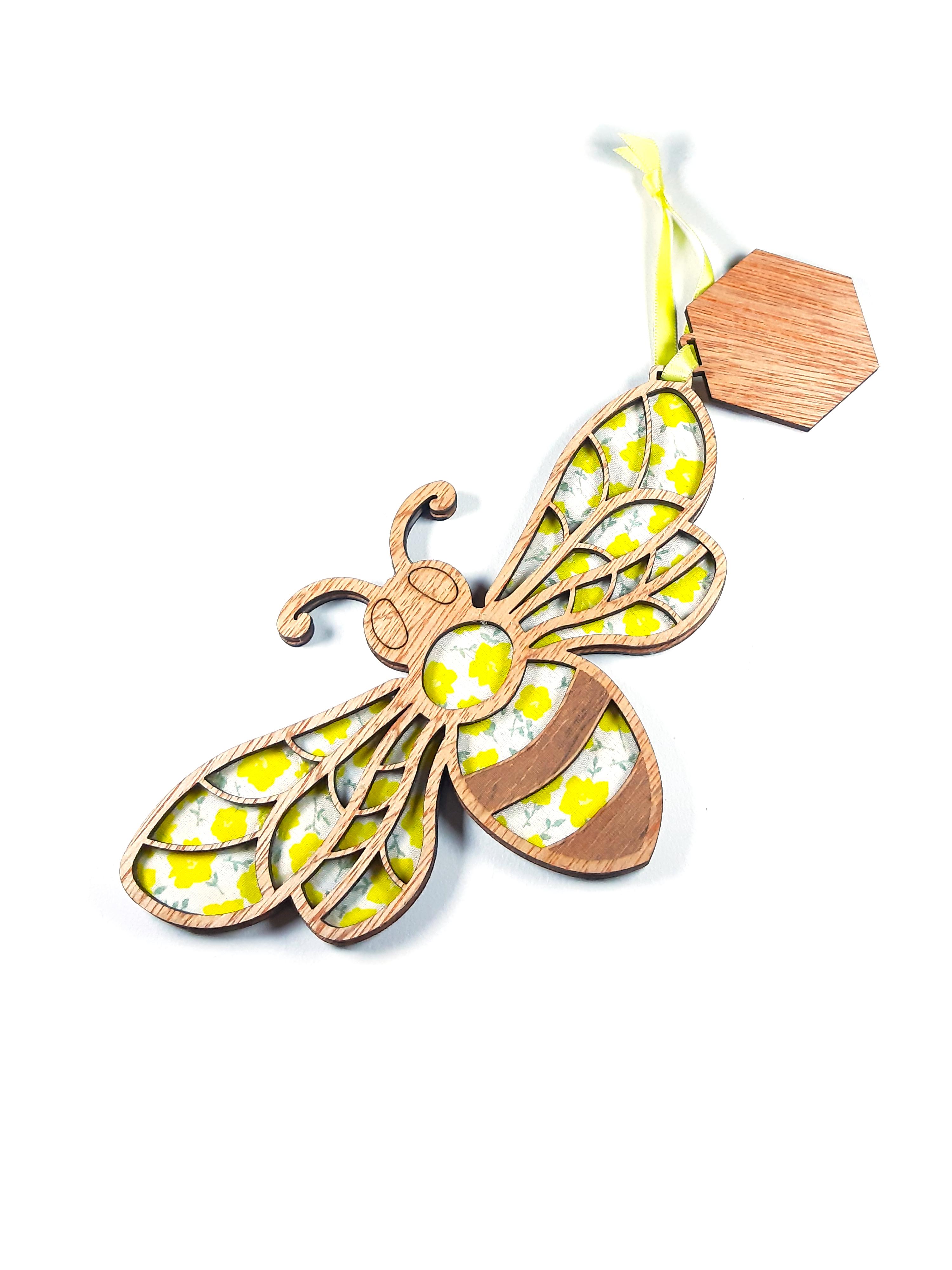 Happy Bee - Hanging Decoration
