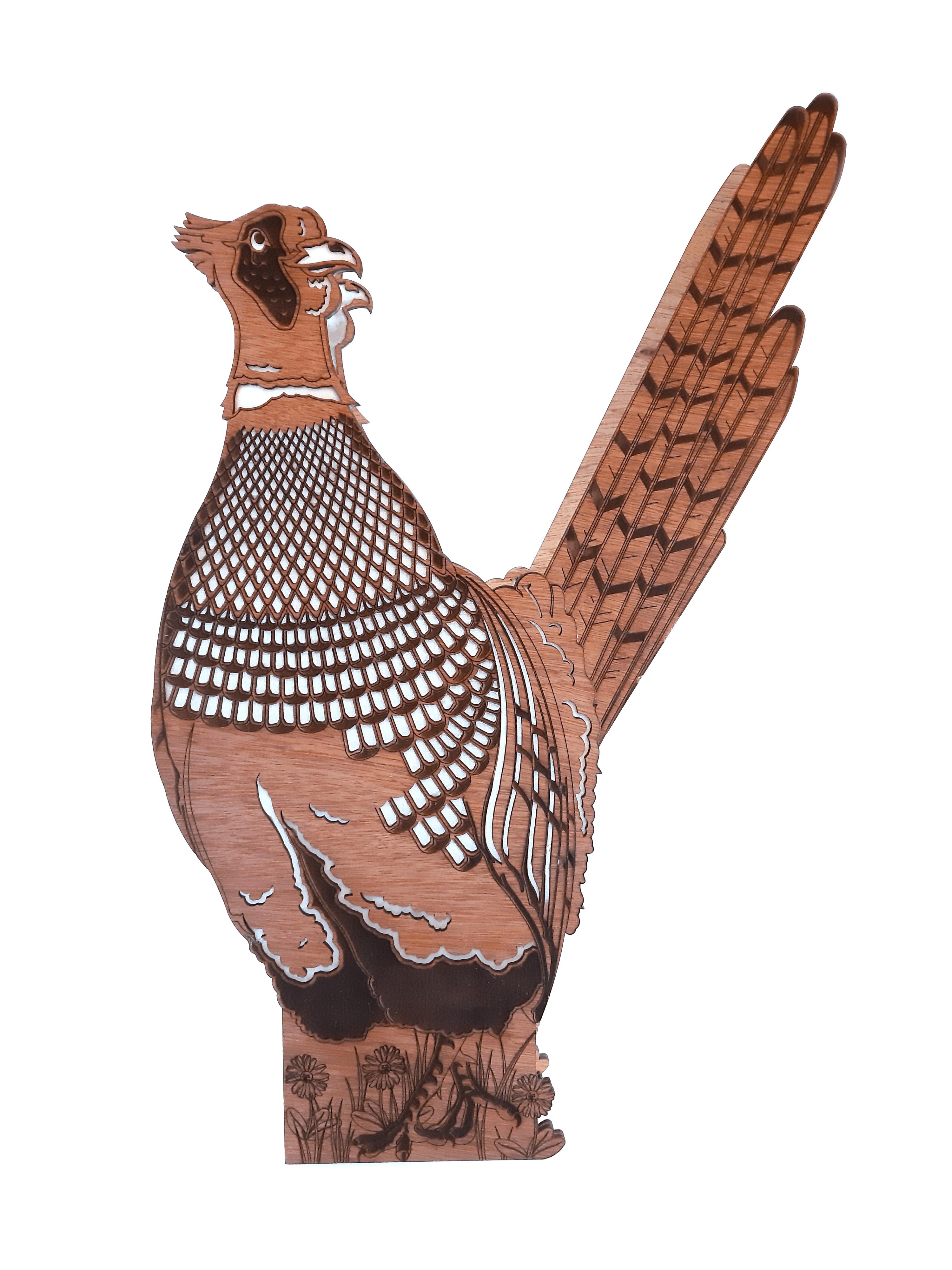 Frampton Pheasant, Lamp