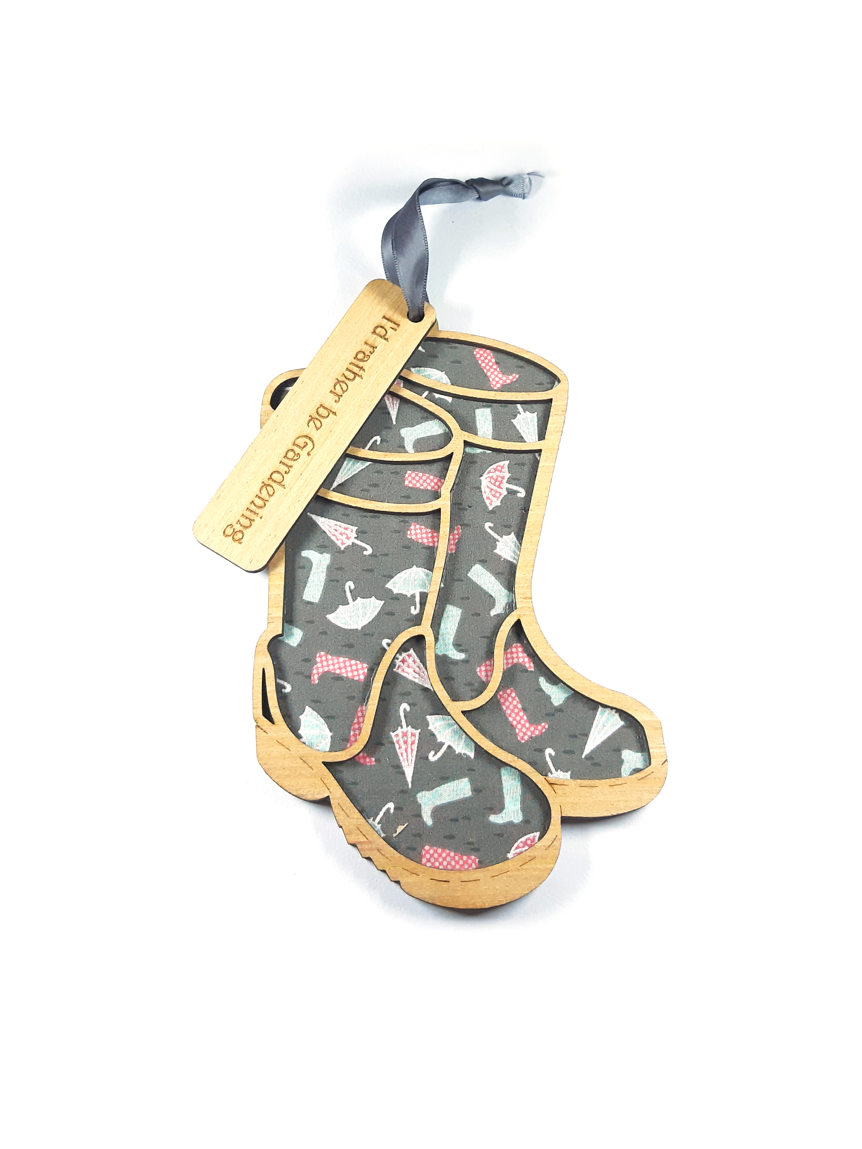 Welly boots - Hanging Decoration