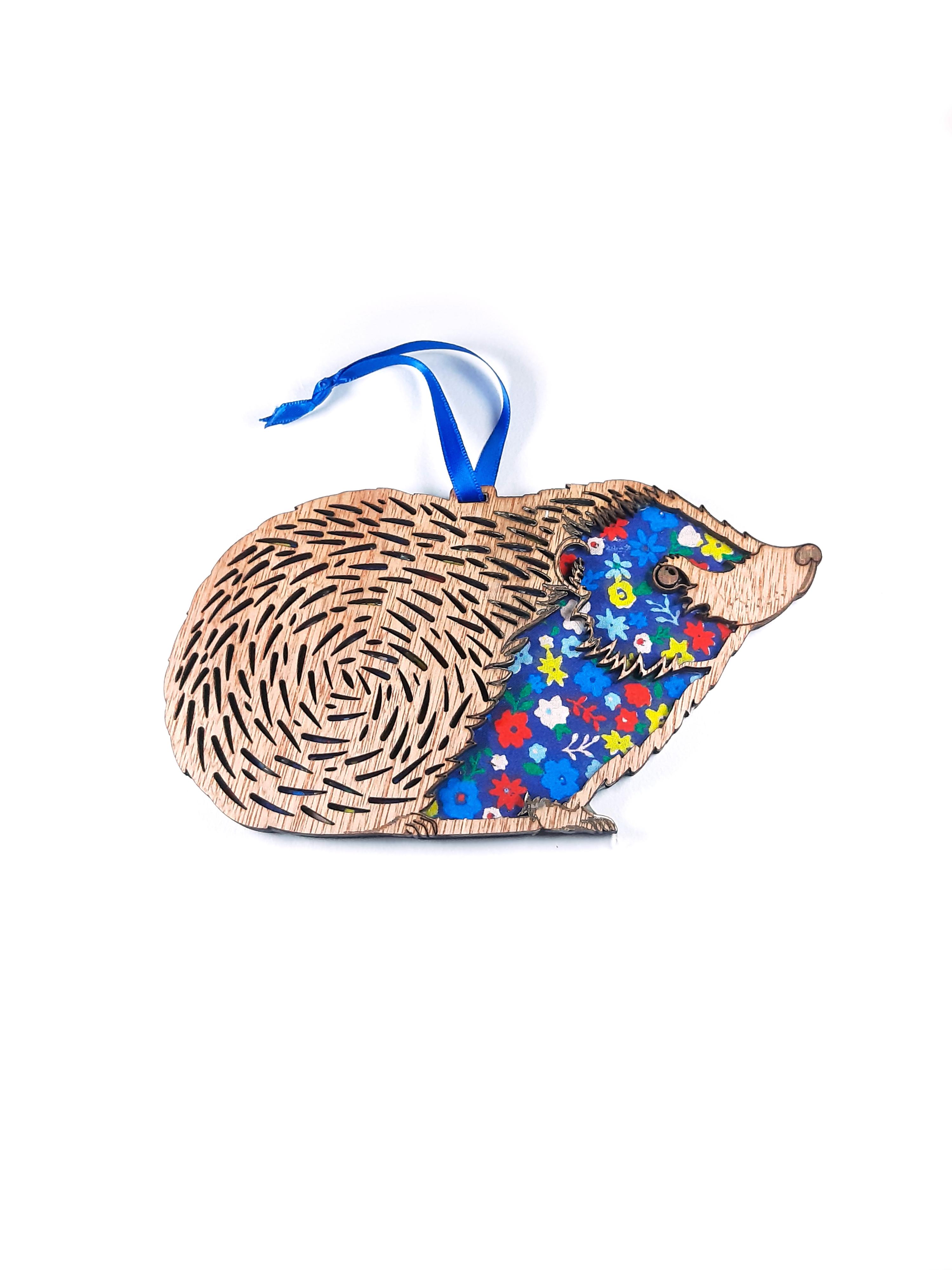 Hedgehog - Hanging Decoration