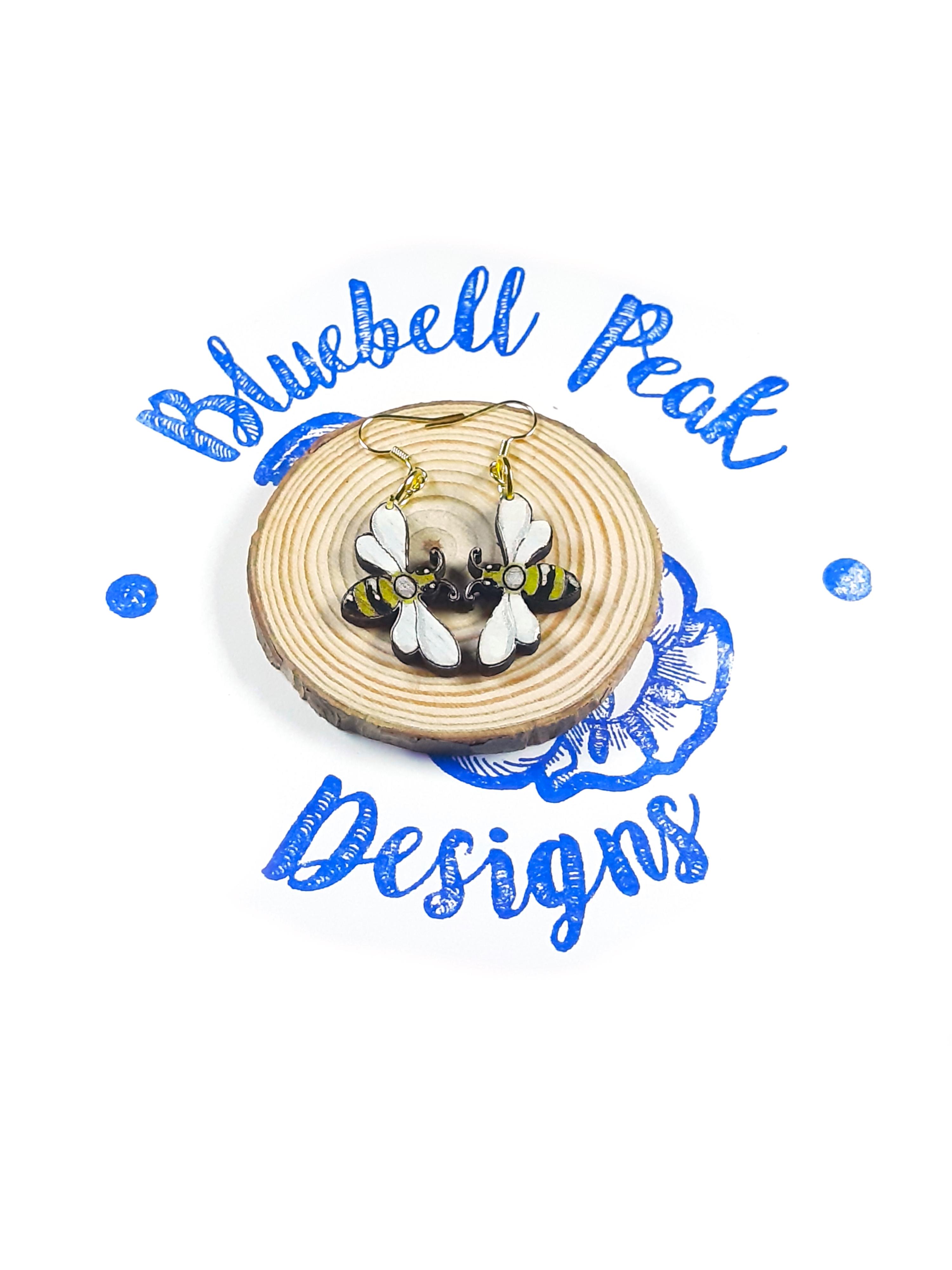 Honey Bee - Drop Earrings