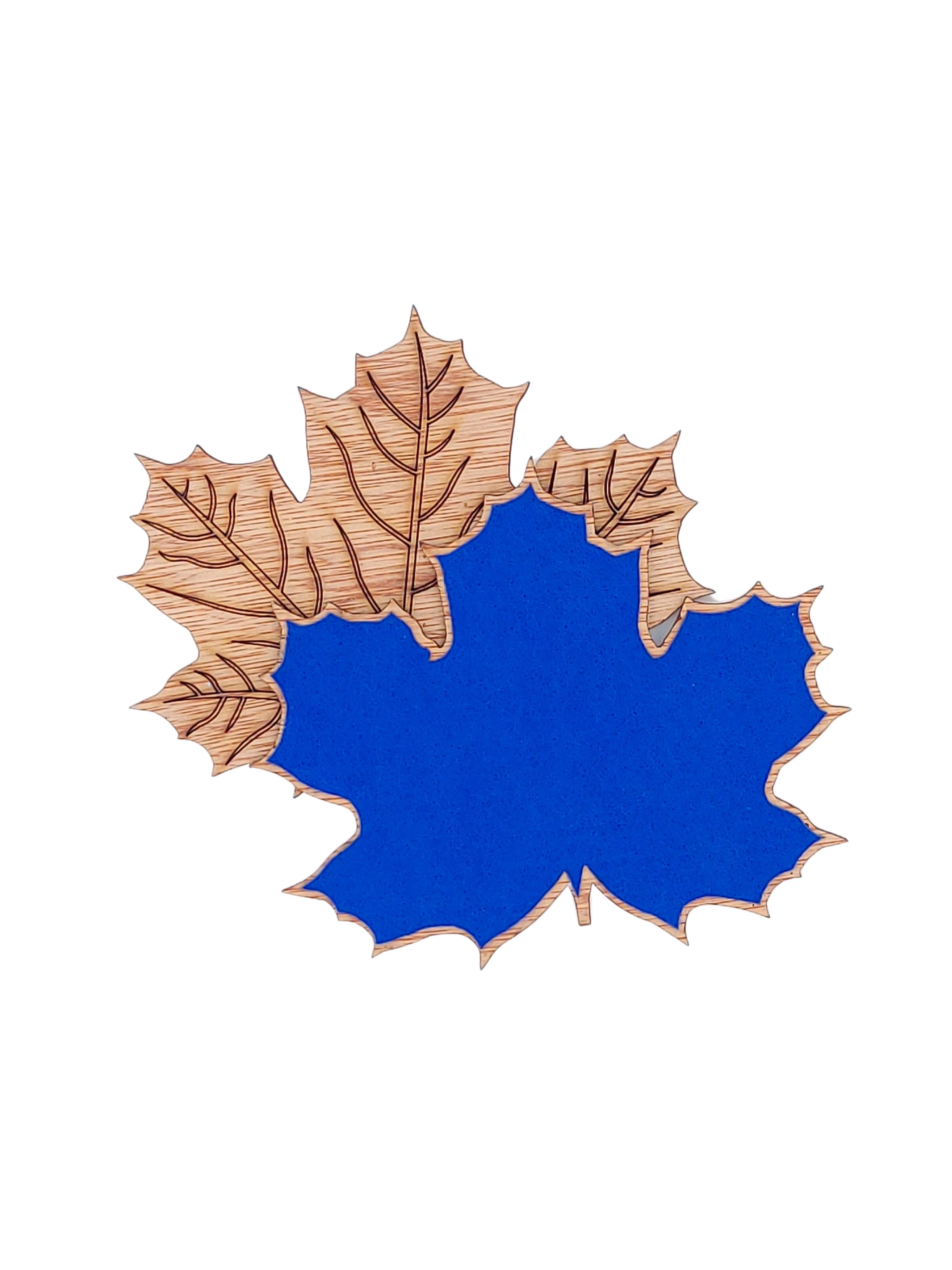 Maple Leaf Coaster