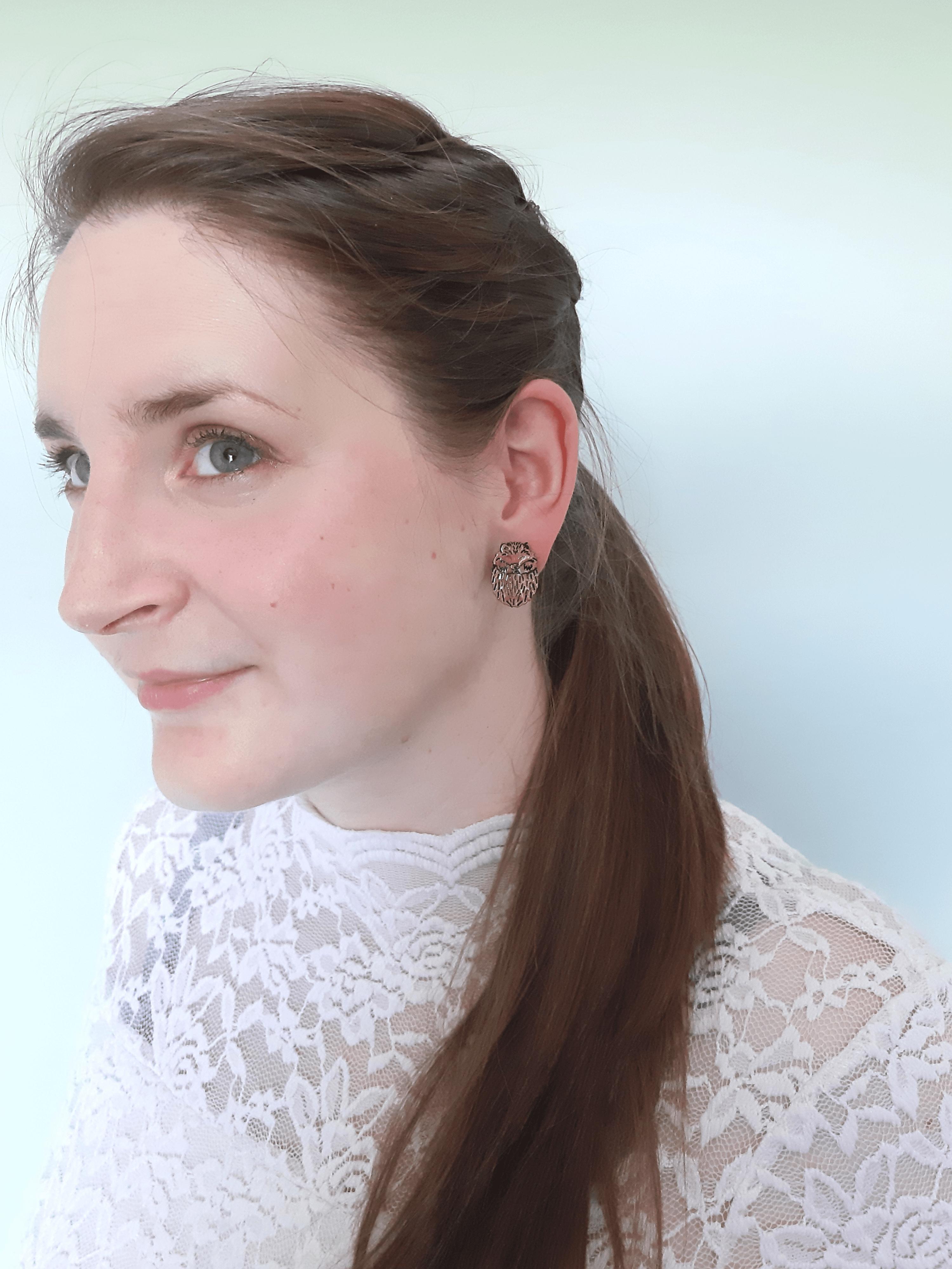 Hedgehog - Stud Earring