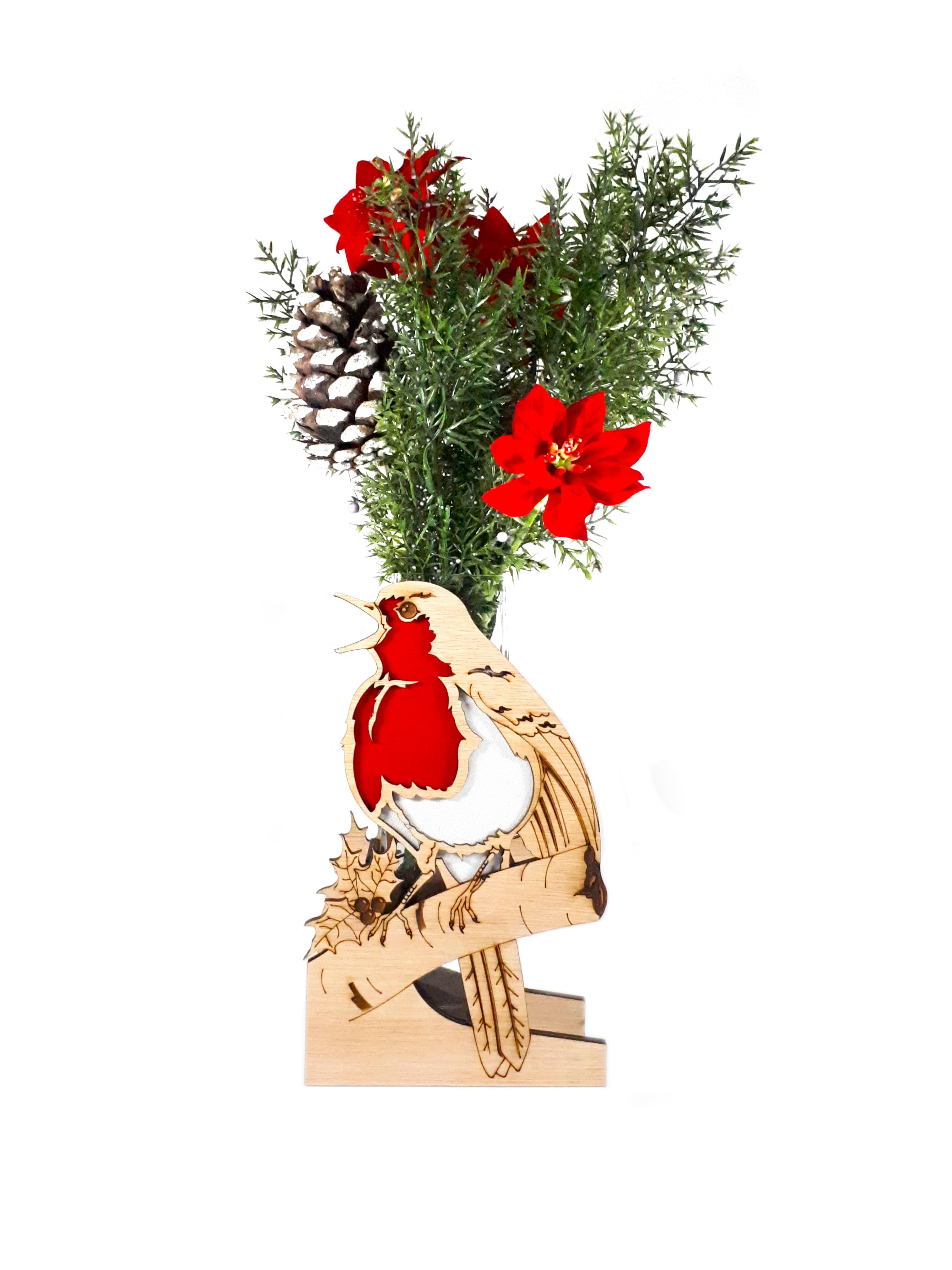 Singing Robin, Vase