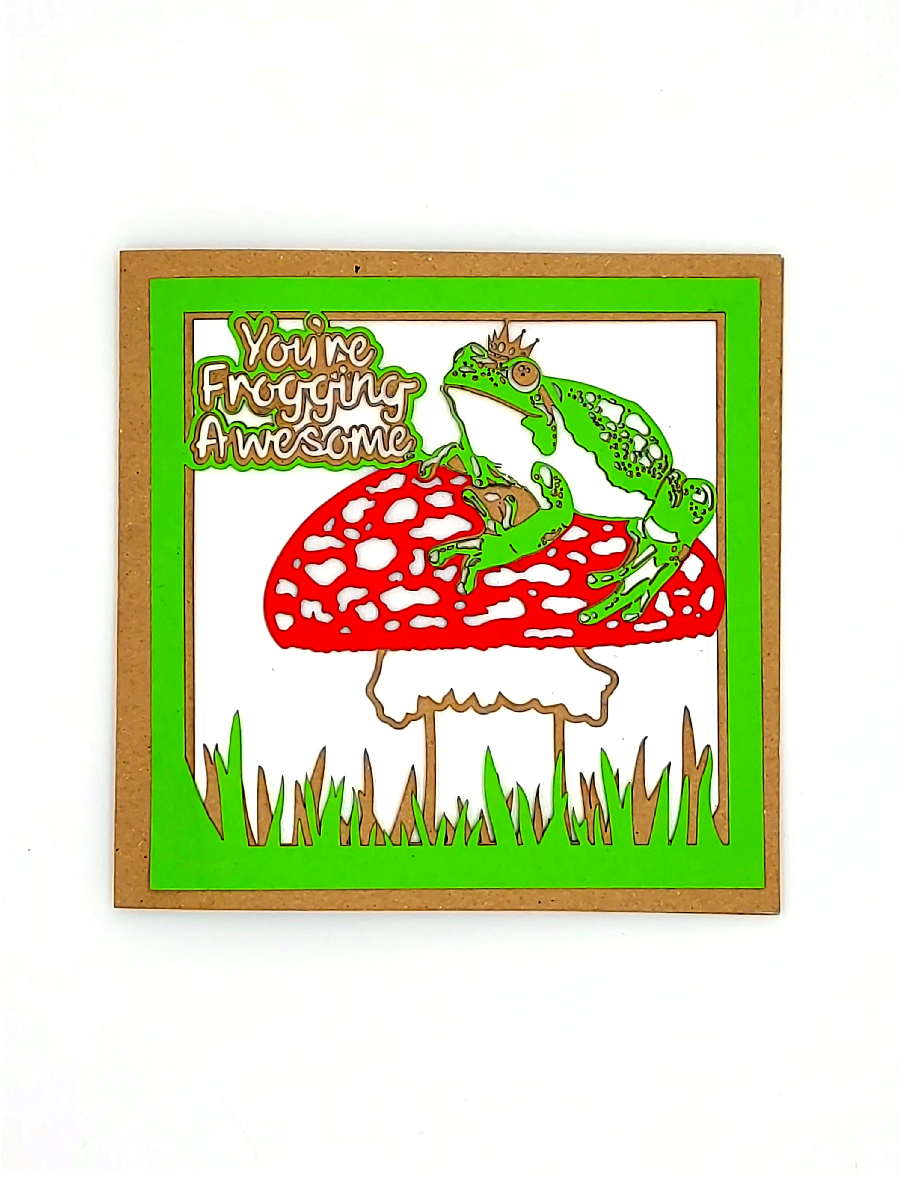 Froggin Awesome Card