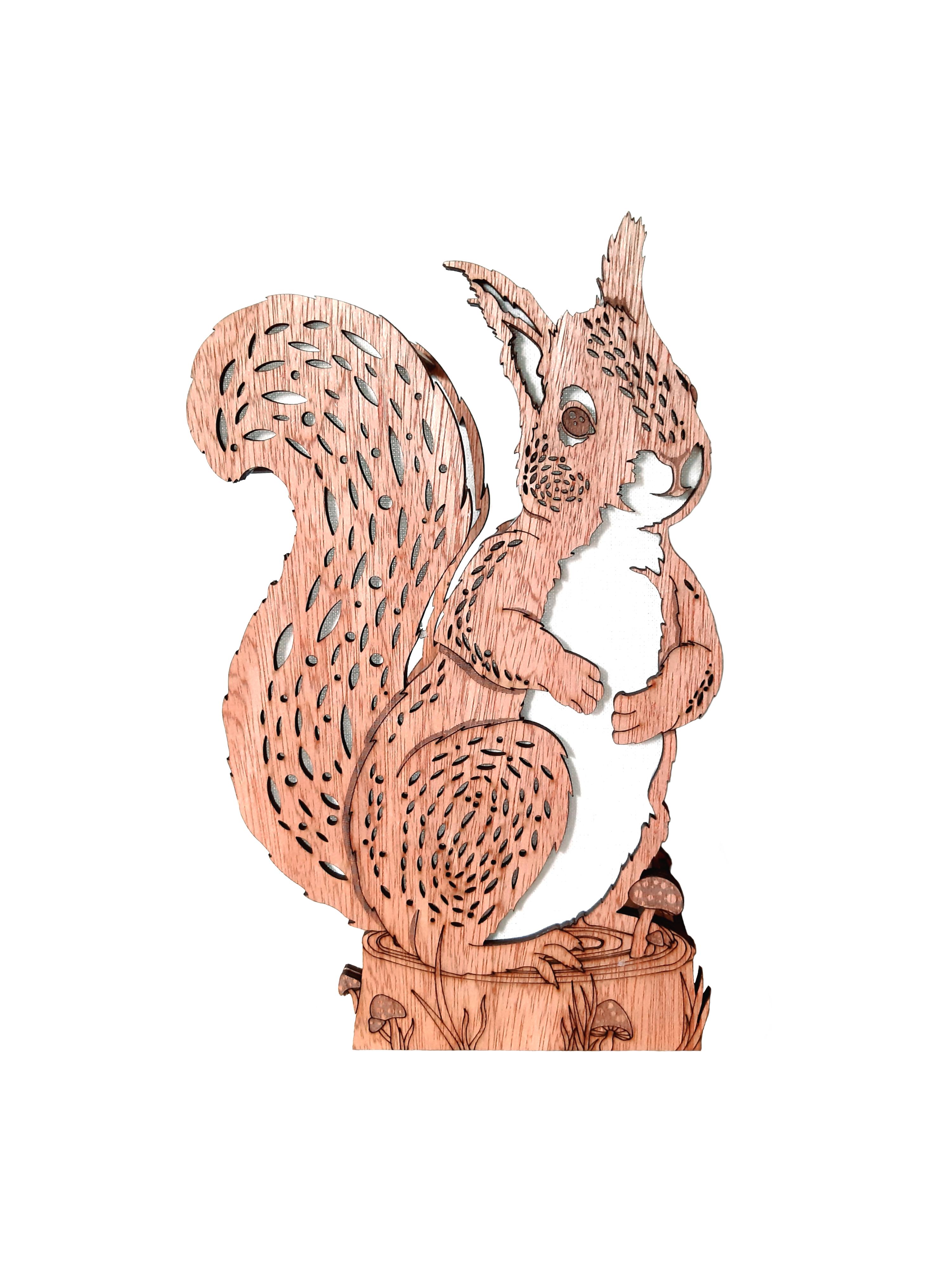 Mona Squirrel, Lamp