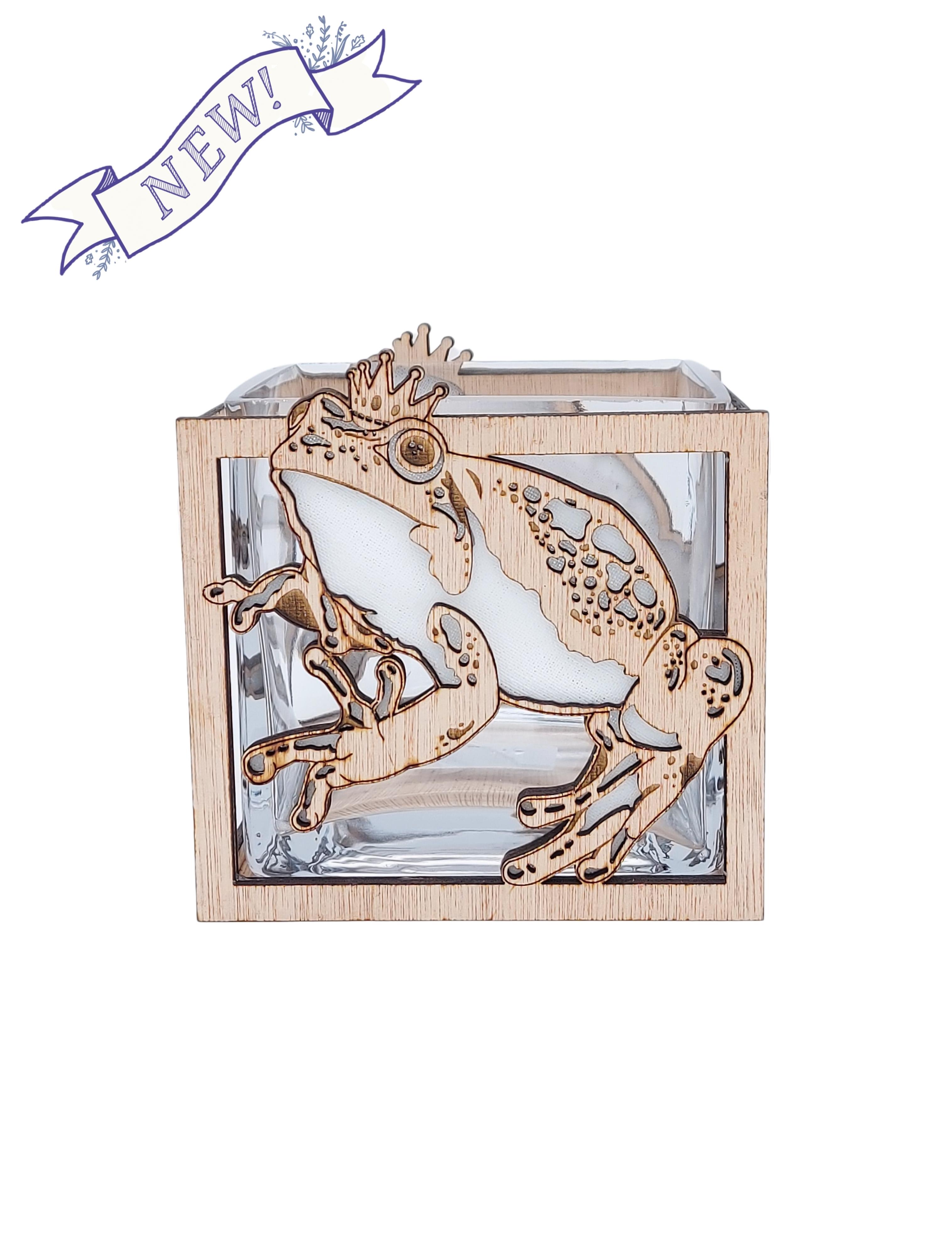 Frog Prince Vase