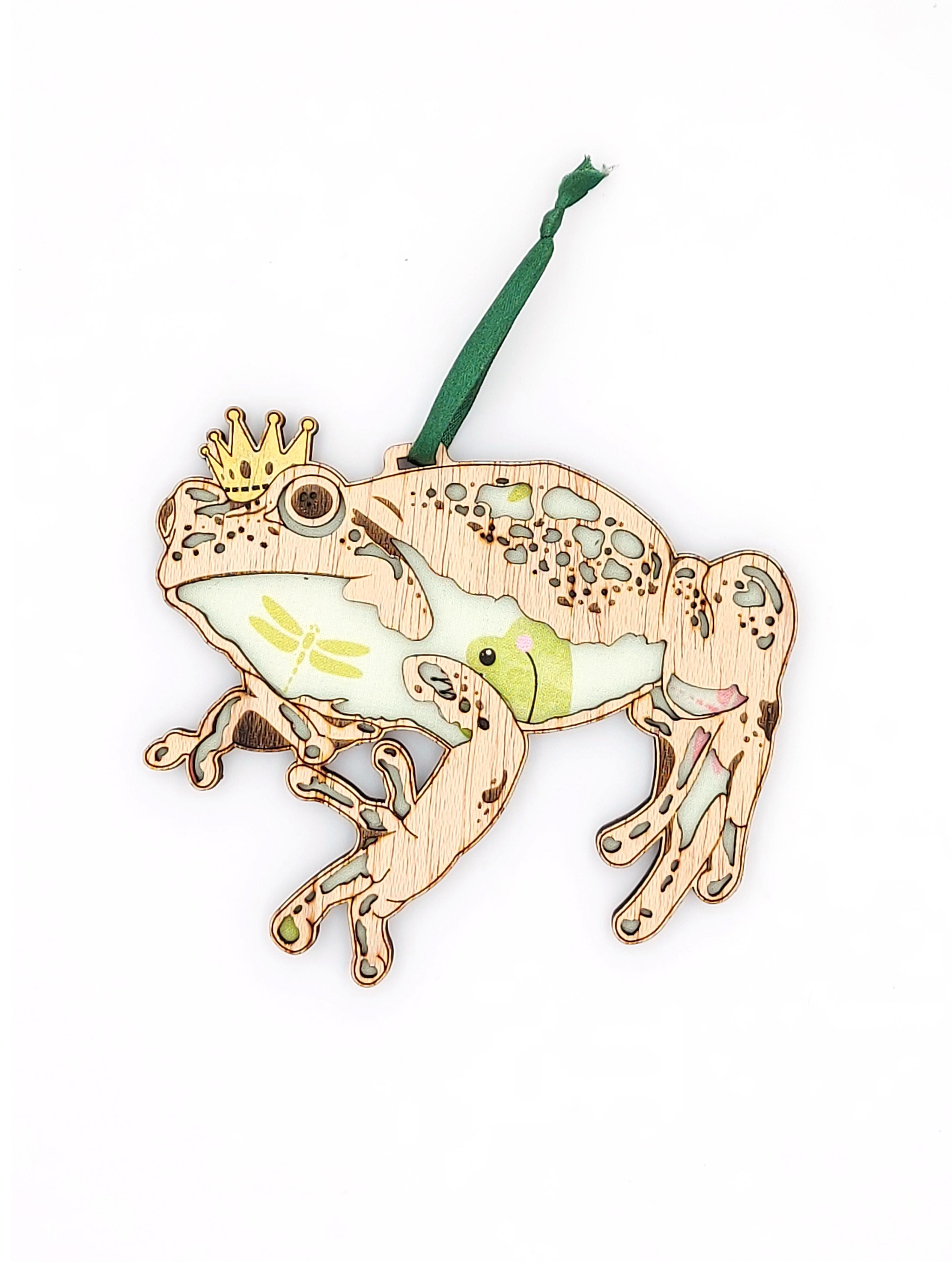 Frog Prince Hanging Decoration