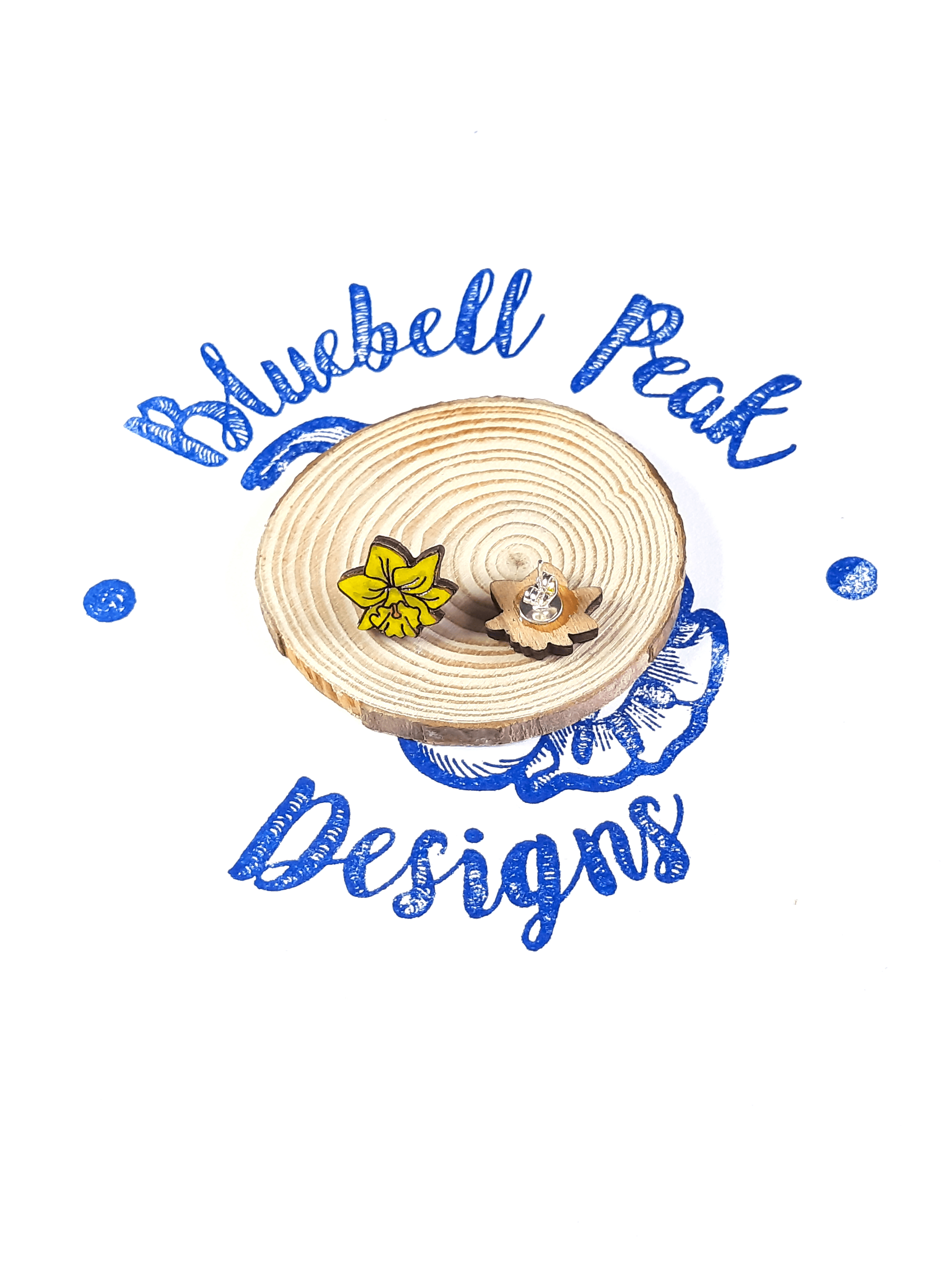 Daffodil - Stud Earrings