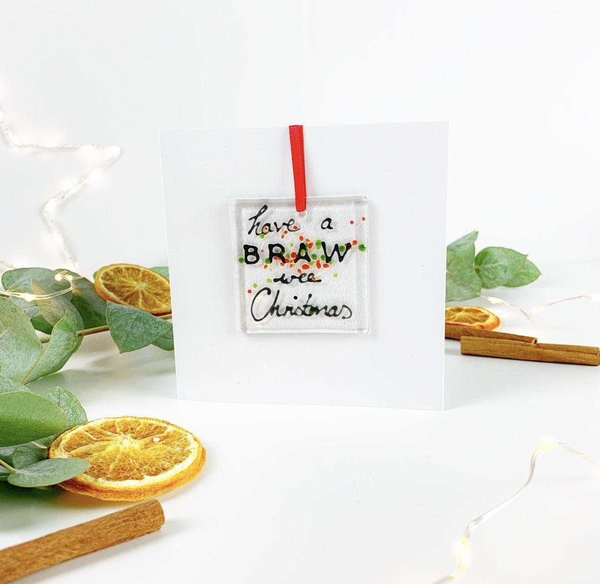 Braw Christmas Card
