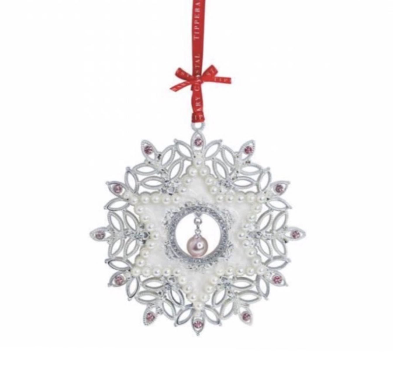 Sparkle Pearl Snowflake