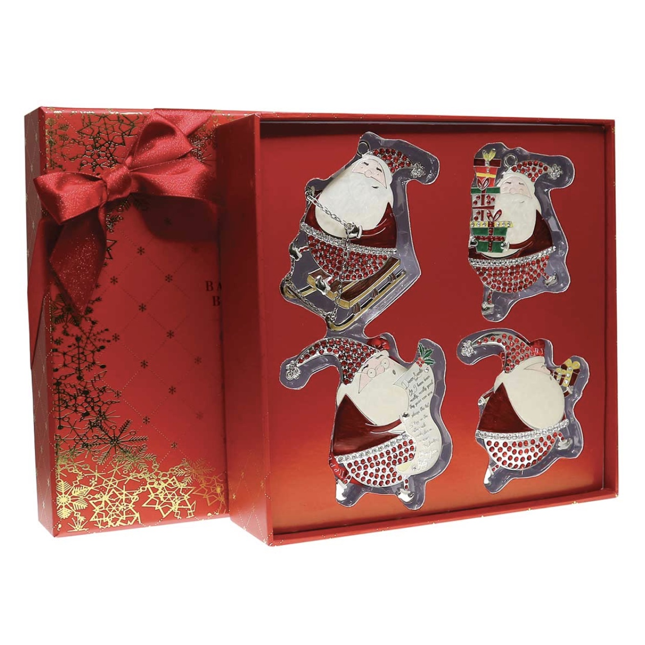 Sparkle Red Gift Set of Four