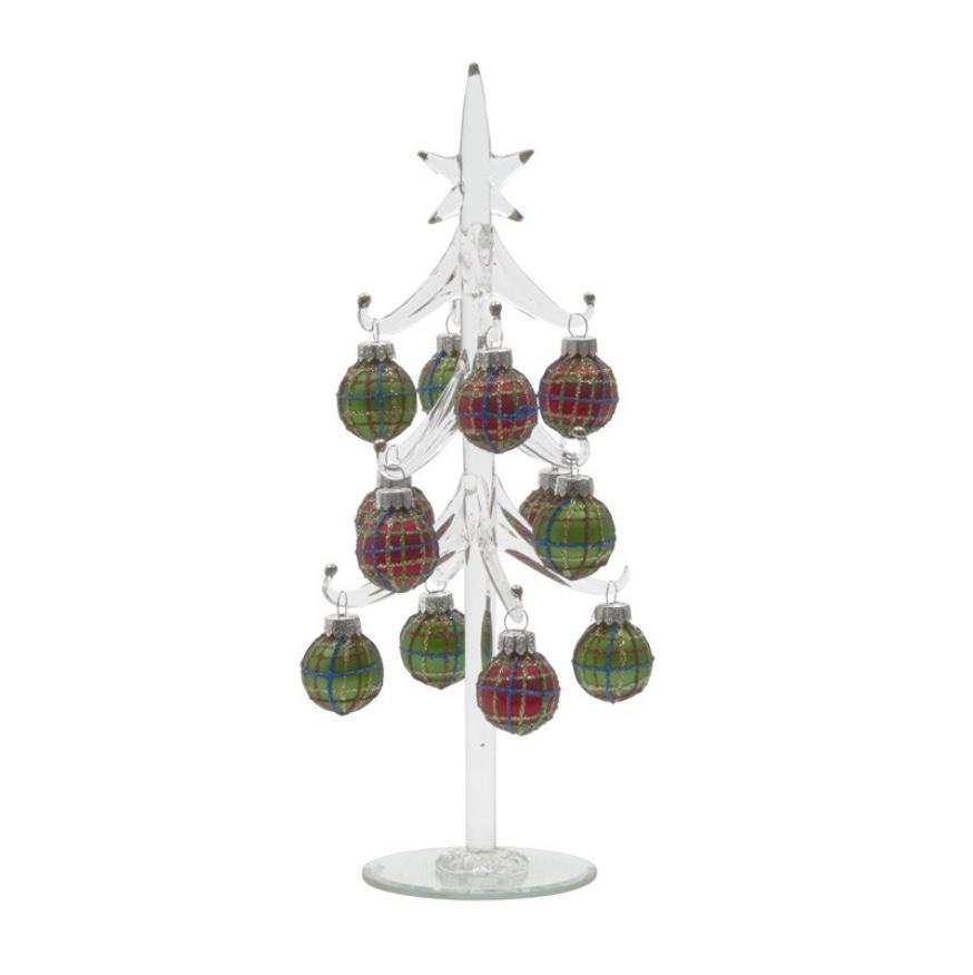 Tartan Glass Tree