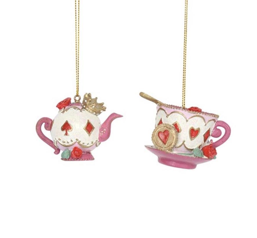 Alice in Wonderland - Tea Set