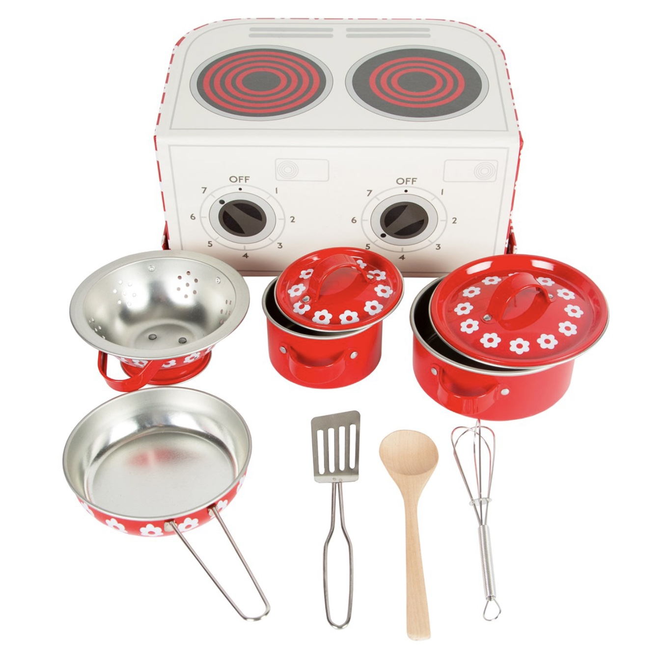 Play Cooking set in case