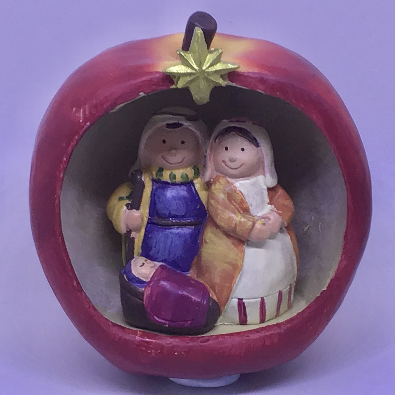 Cute Fruits Nativity