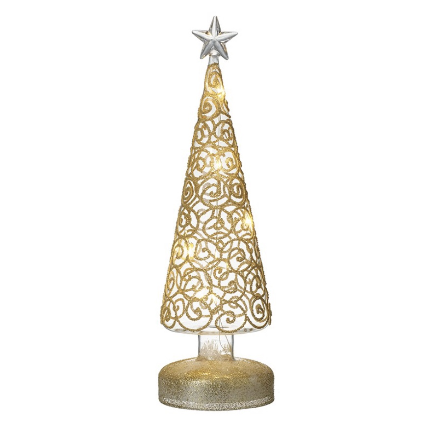 Glass tree - light up