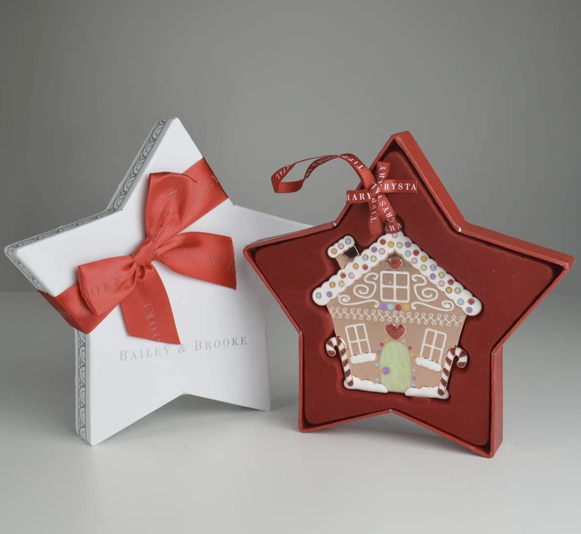 Sparkle Gingerbread House