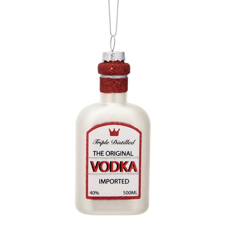 Vodka Bottle Shaped Bauble