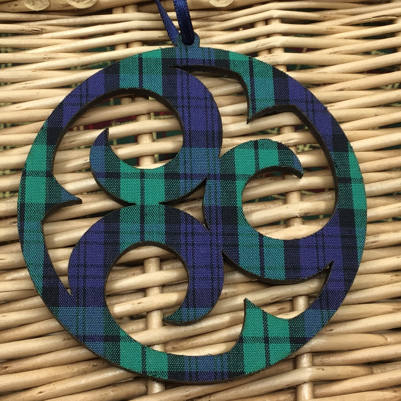 Celtic Roundel - Black Watch