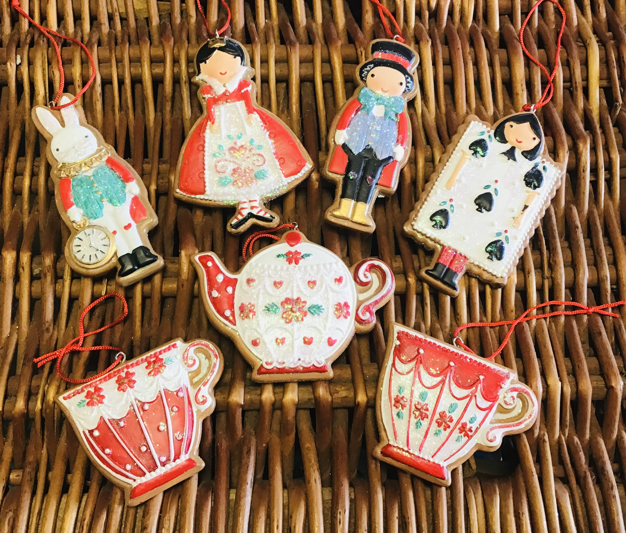 Mad Hatter Gingerbreads Set