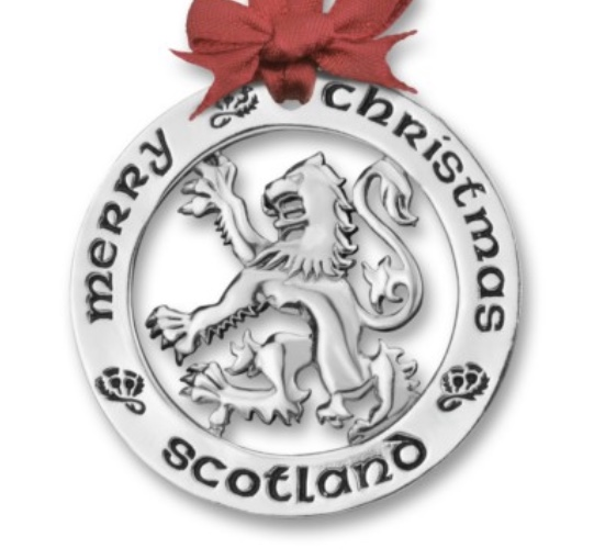 Silver Plated Scottish Lion