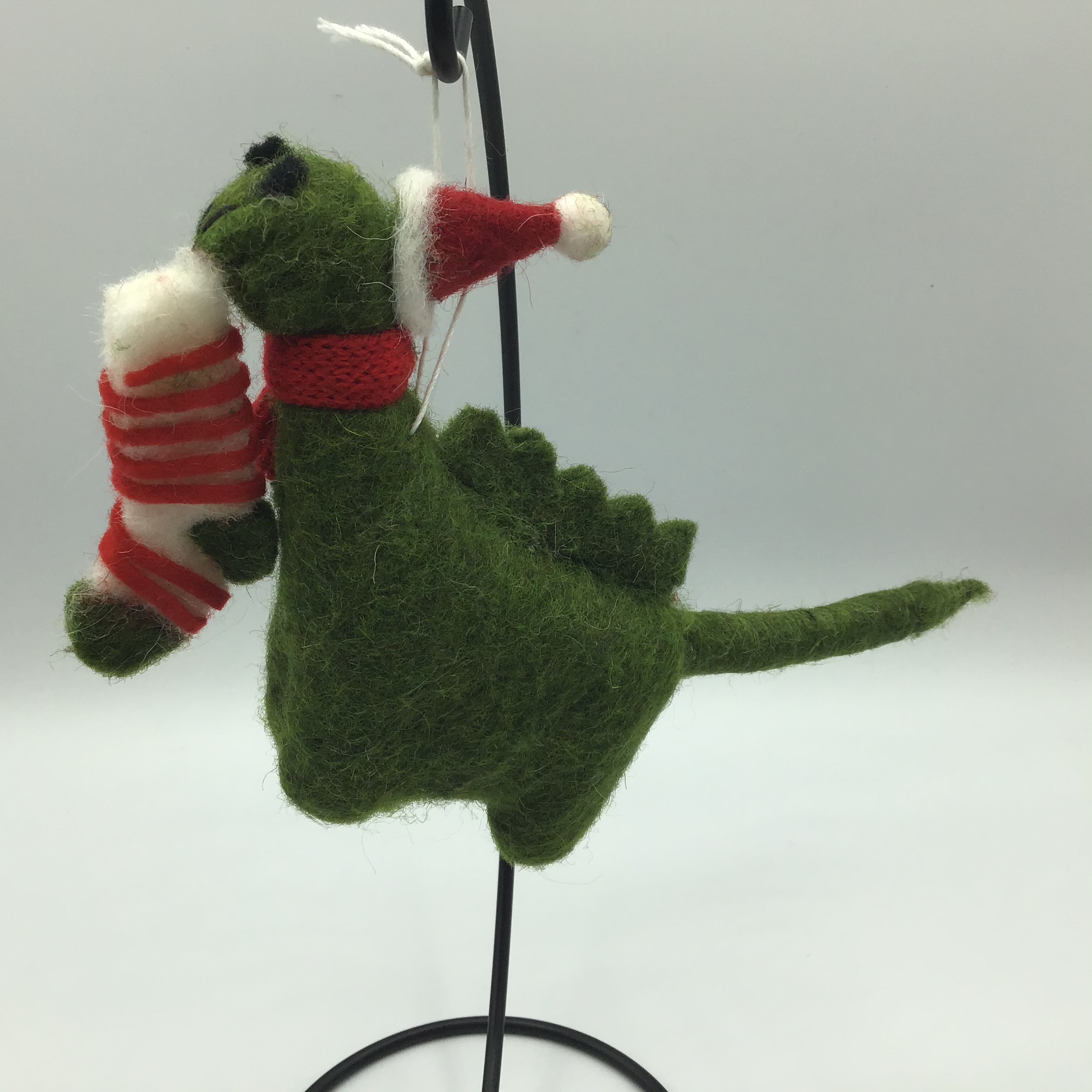 Nessie with stocking