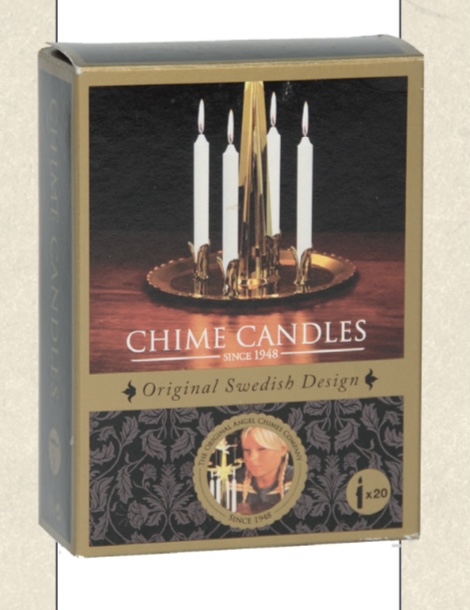 Angel chimes - box of candles