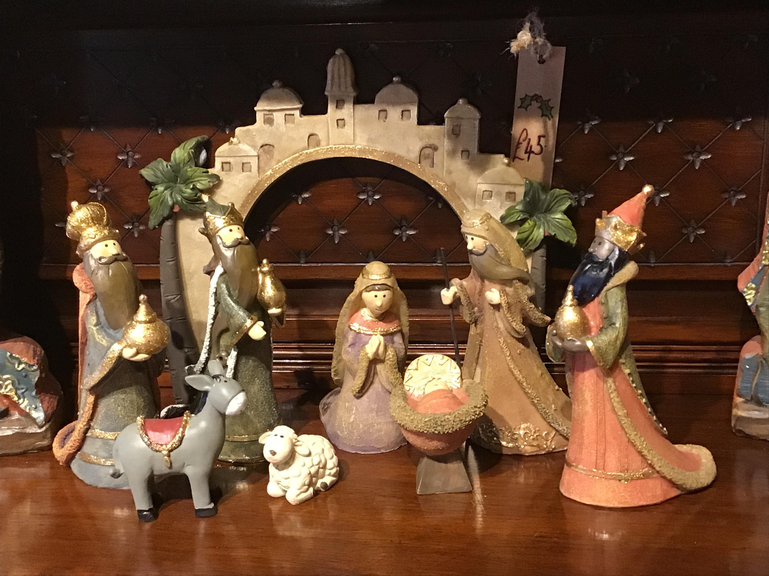 Large Cartoon Nativity
