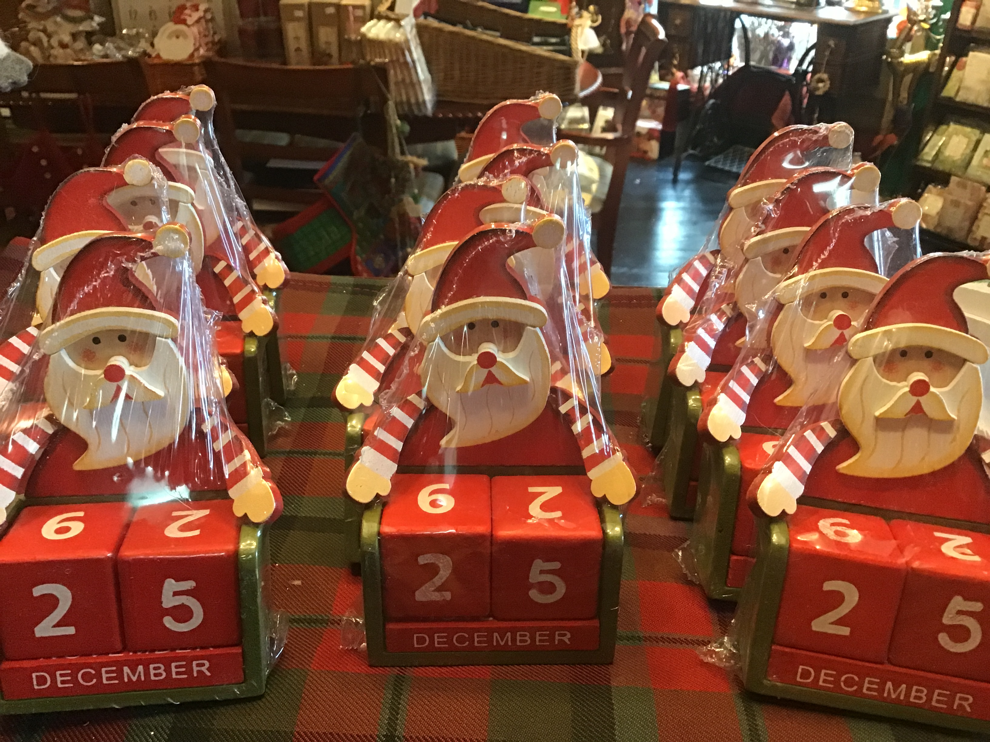 Santa Blocks Advent Countdown