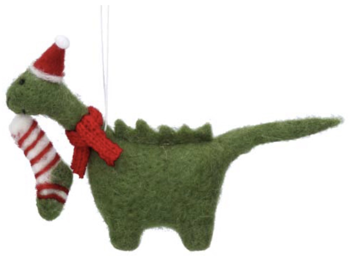 Nessie with stocking