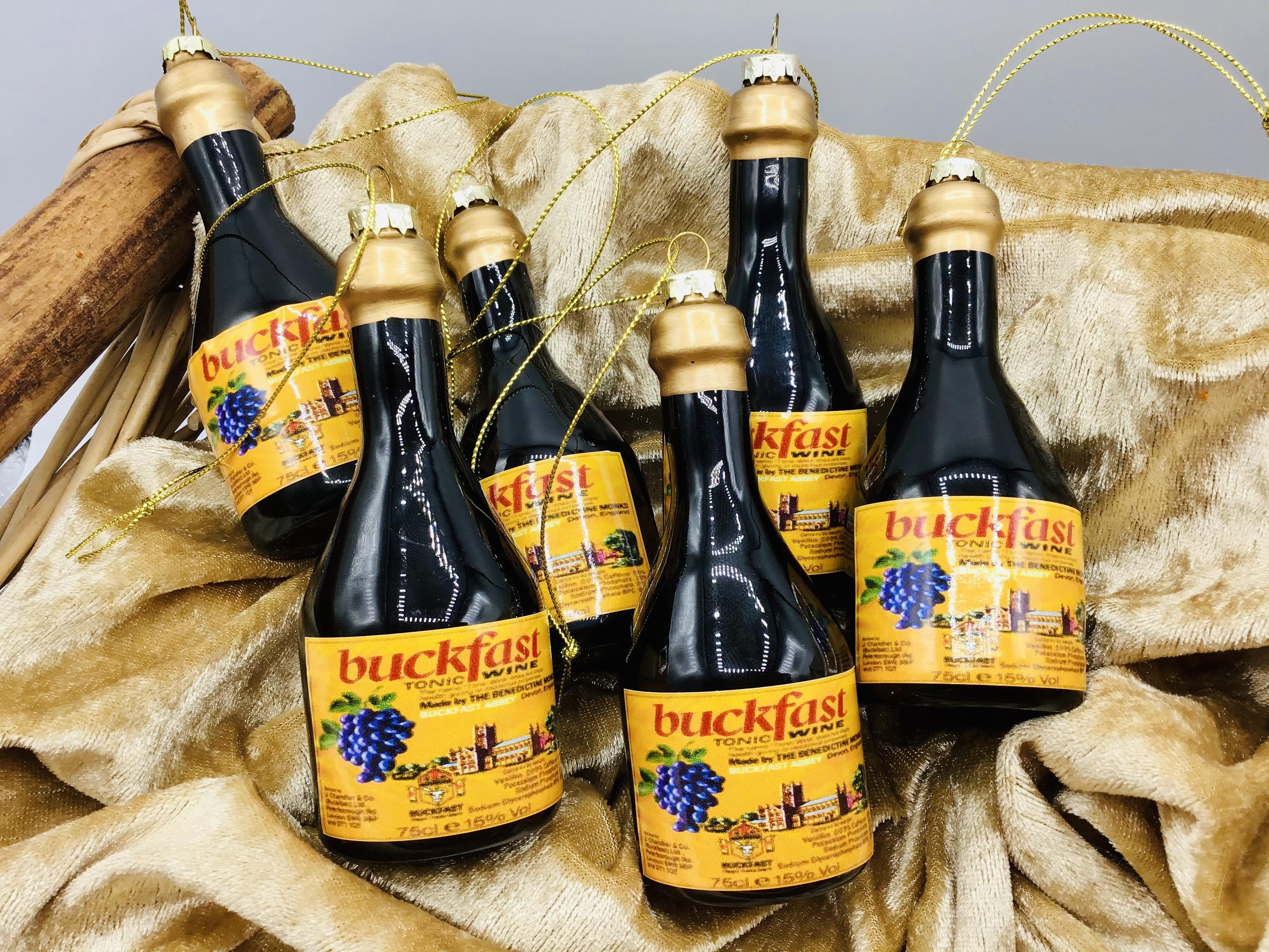 Buckfast Tonic Wine Decoration