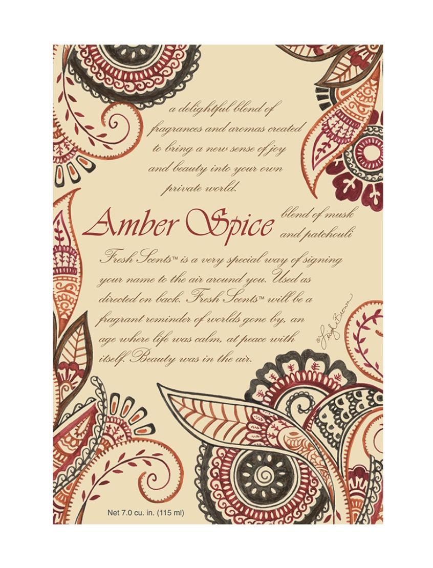 Amber Spice Scented Sachet Bundle