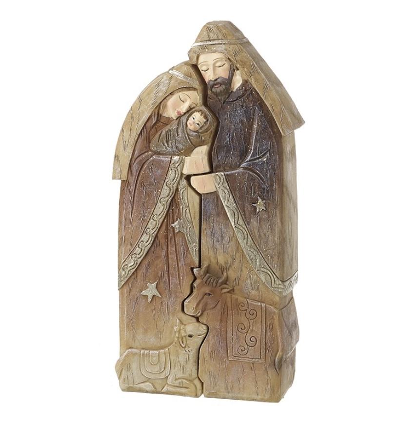 Nativity Set - book of Kells style