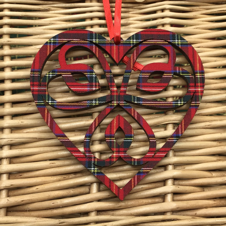 Celtic Heart - Royal Stewart