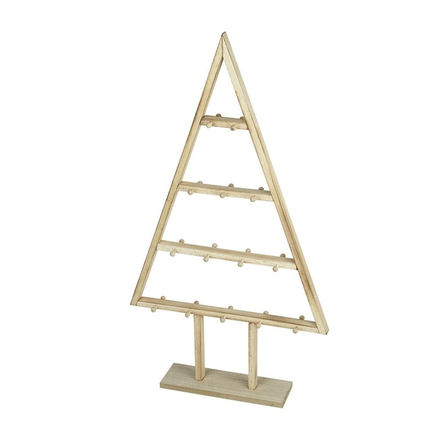 Wooden display tree