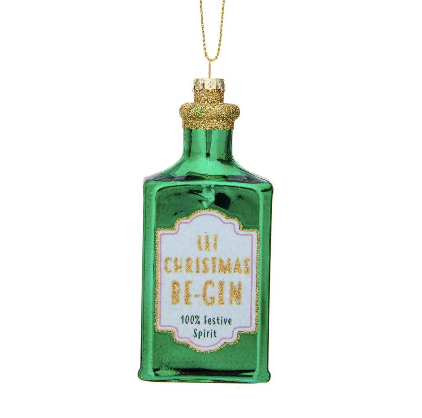 Let Christmas Be Gin Bauble