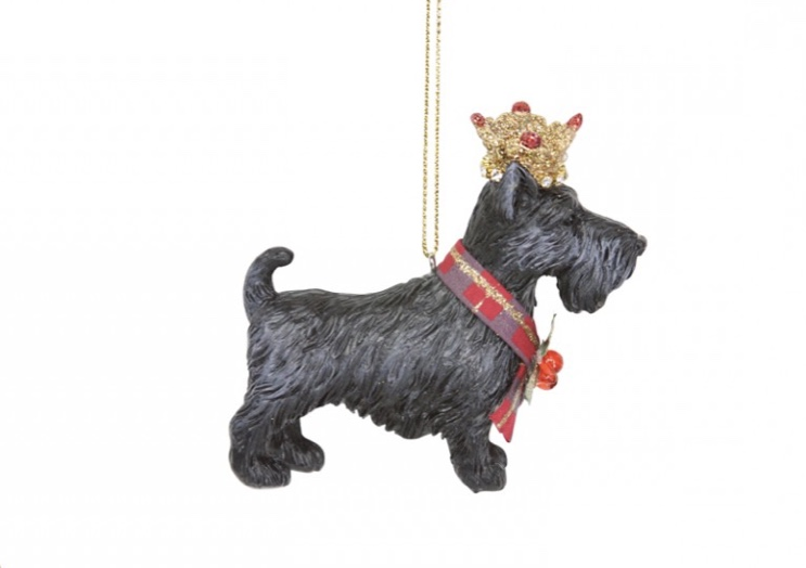 Scottie Dog with Crown