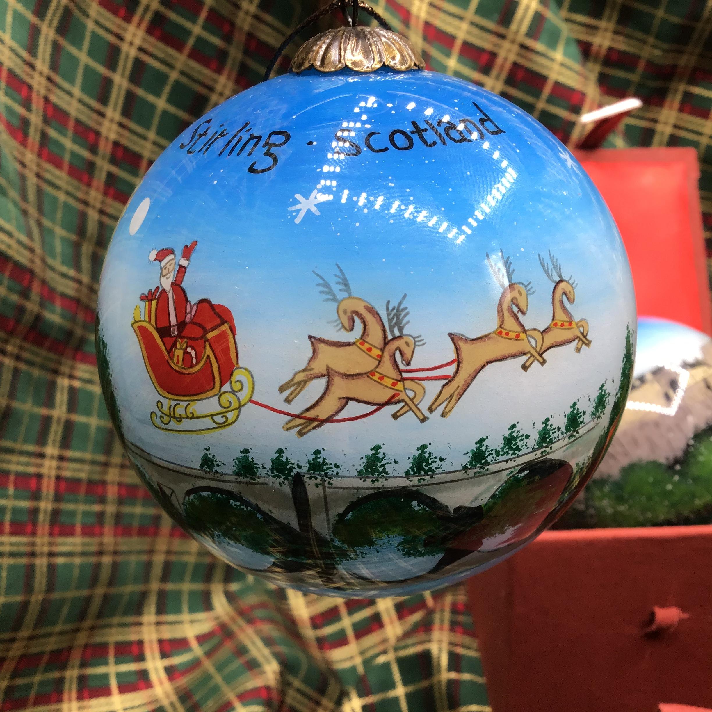 Stirling Castle & Santa Sleigh / Red
