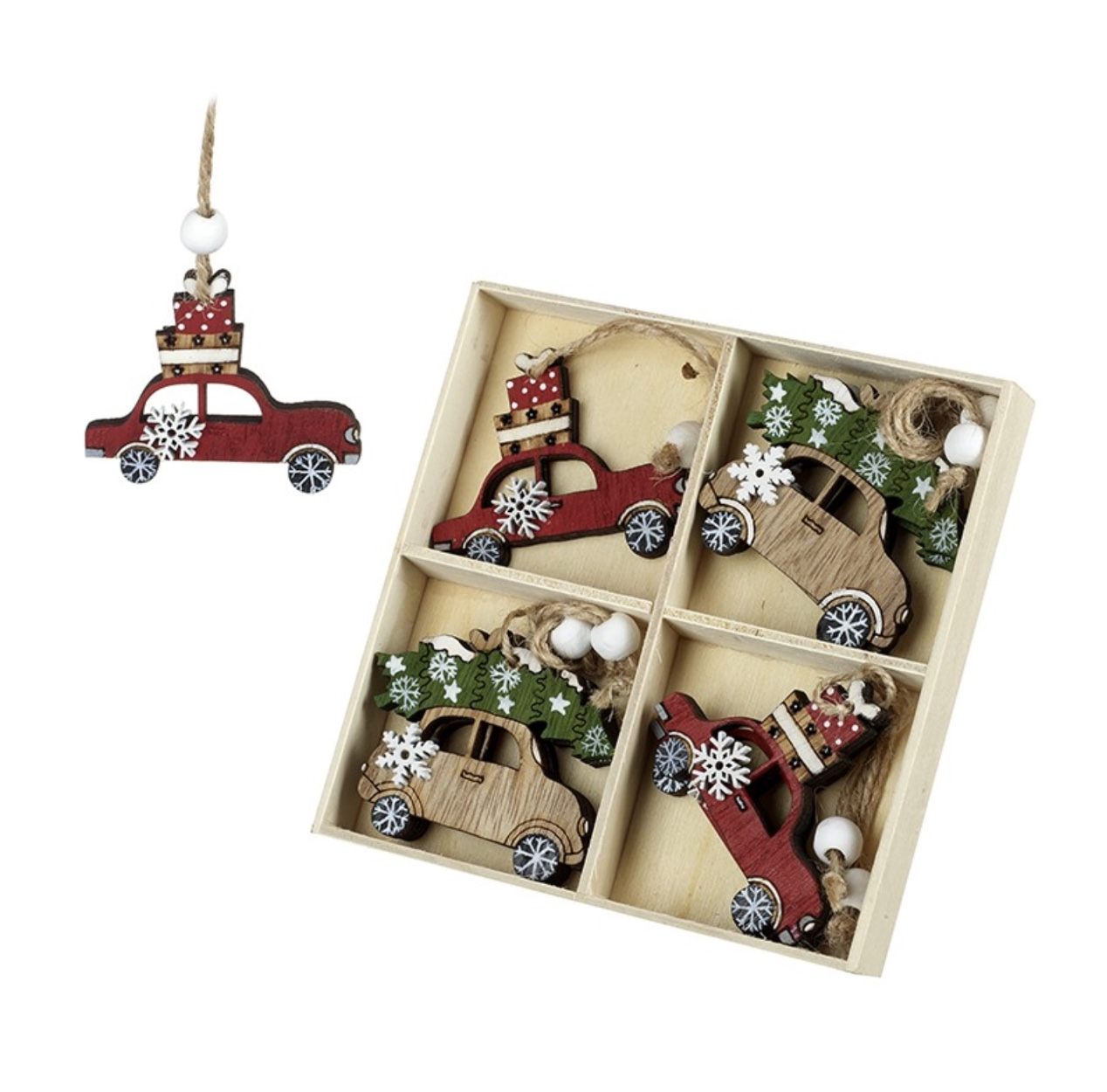 Cars Set of 8 Wooden Cars