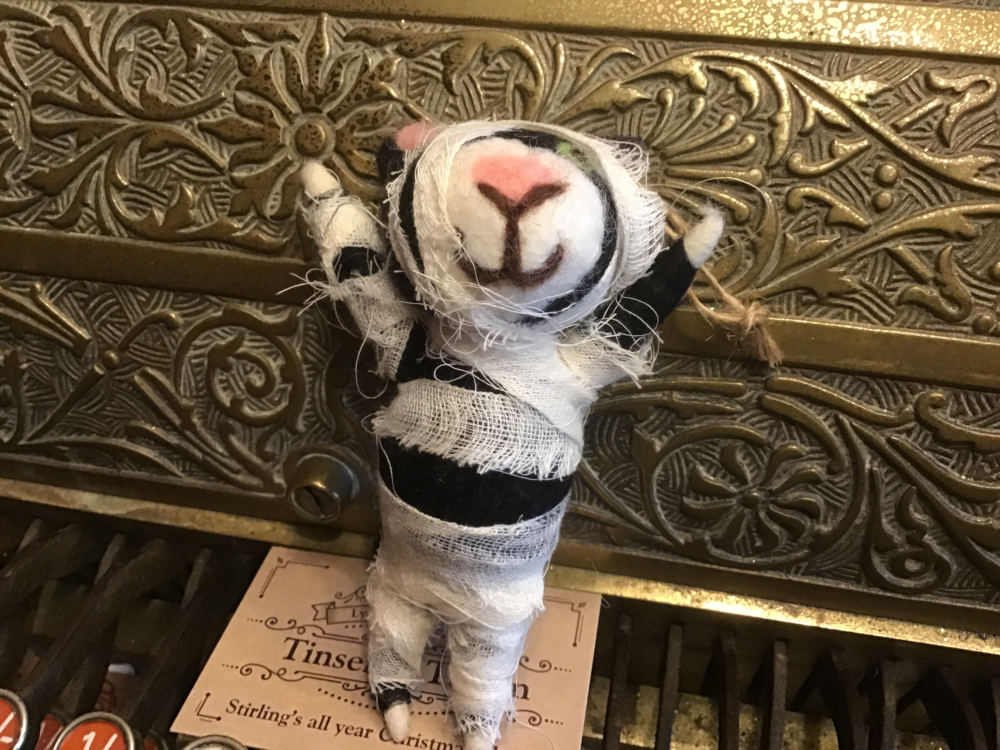 Halloween Mummy Cat