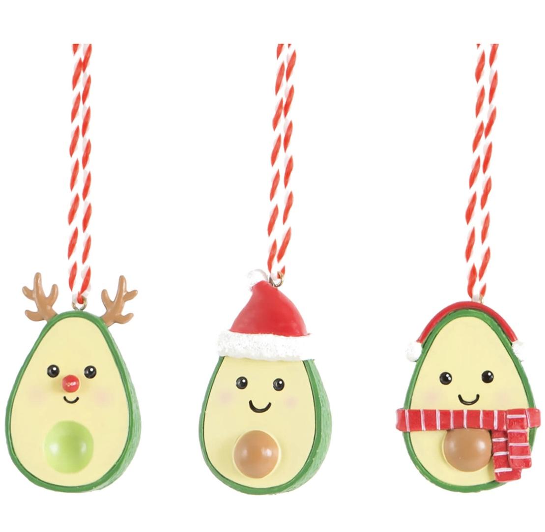 Avocados Set of Three