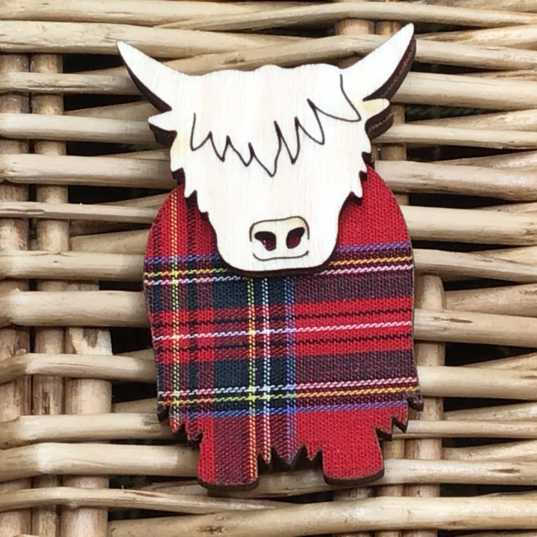 Brooch Hamish - Royal Stewart