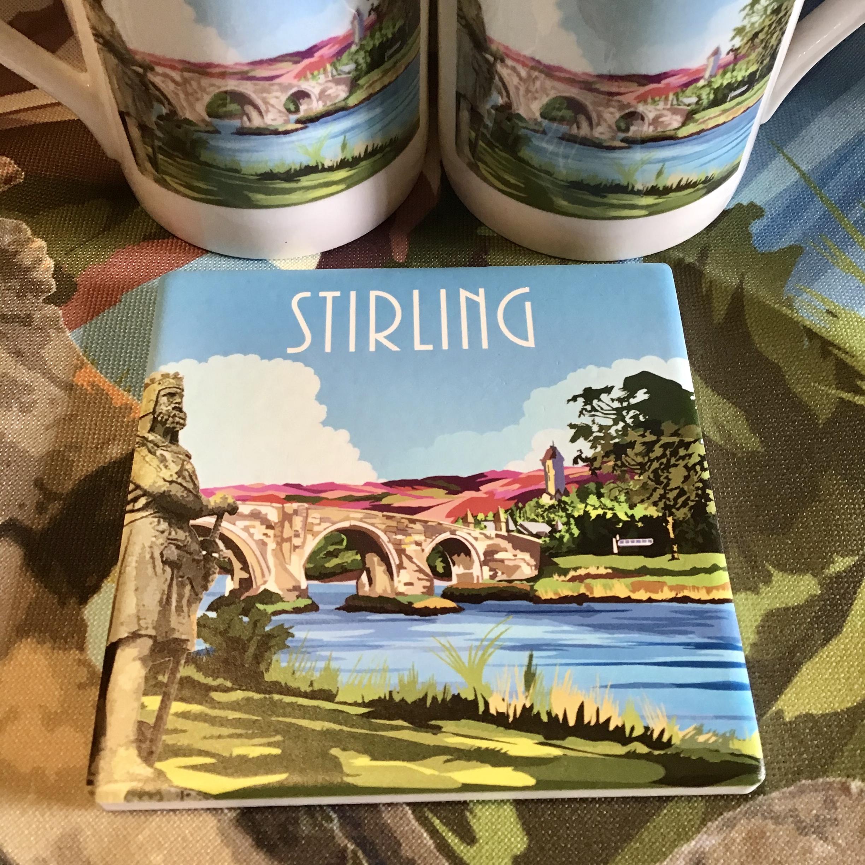 Stirling Ceramic Coaster
