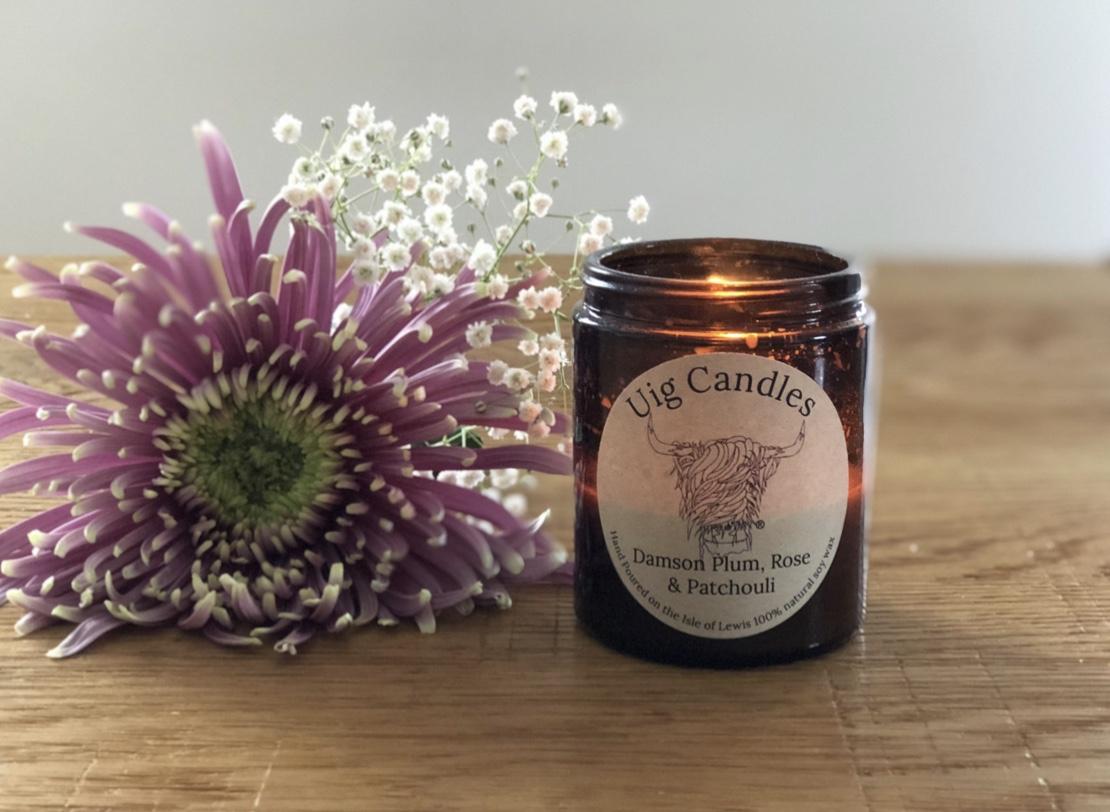 Uig Glass Candle Jar