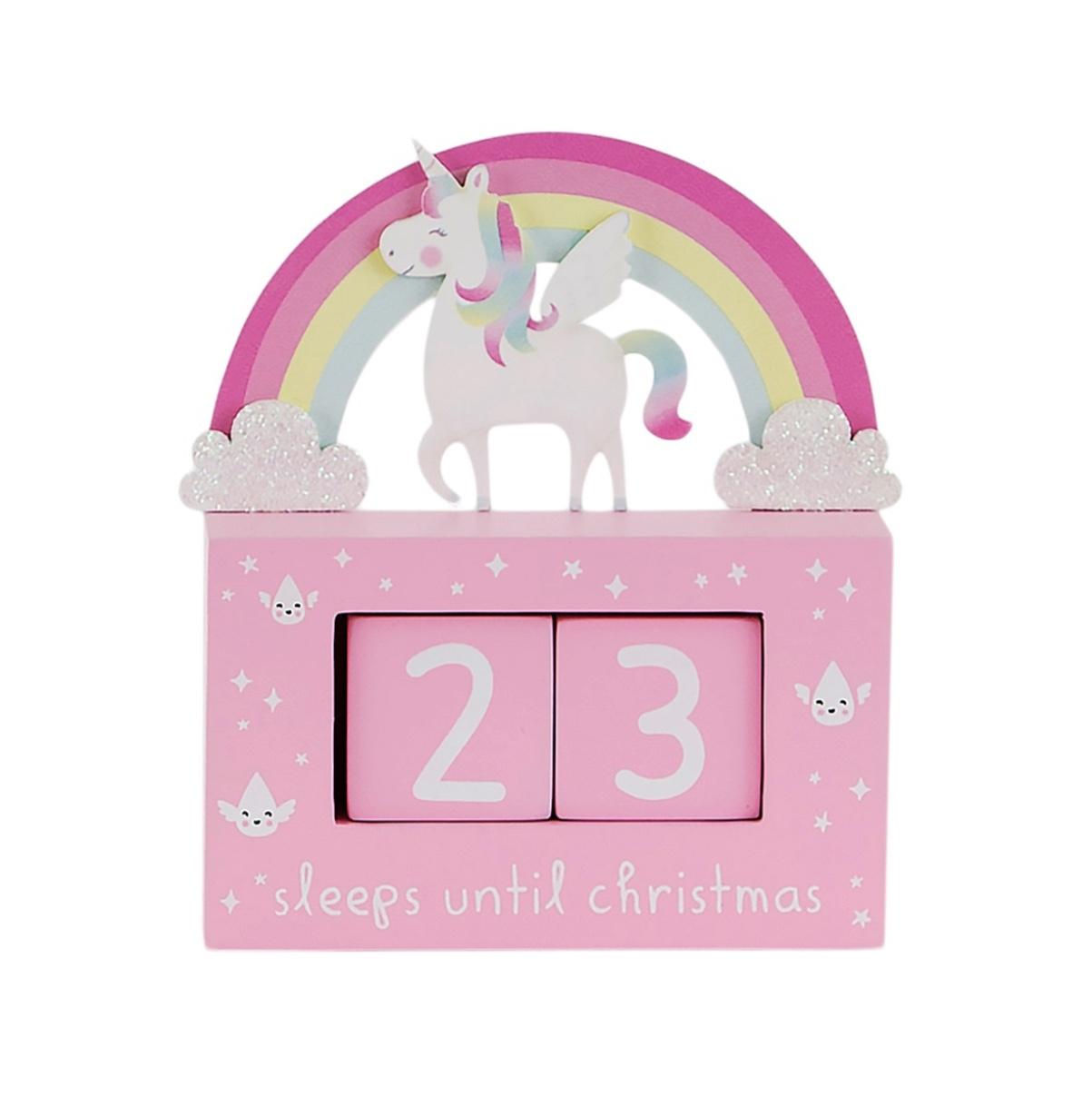 Unicorn rainbow Advent Countdown