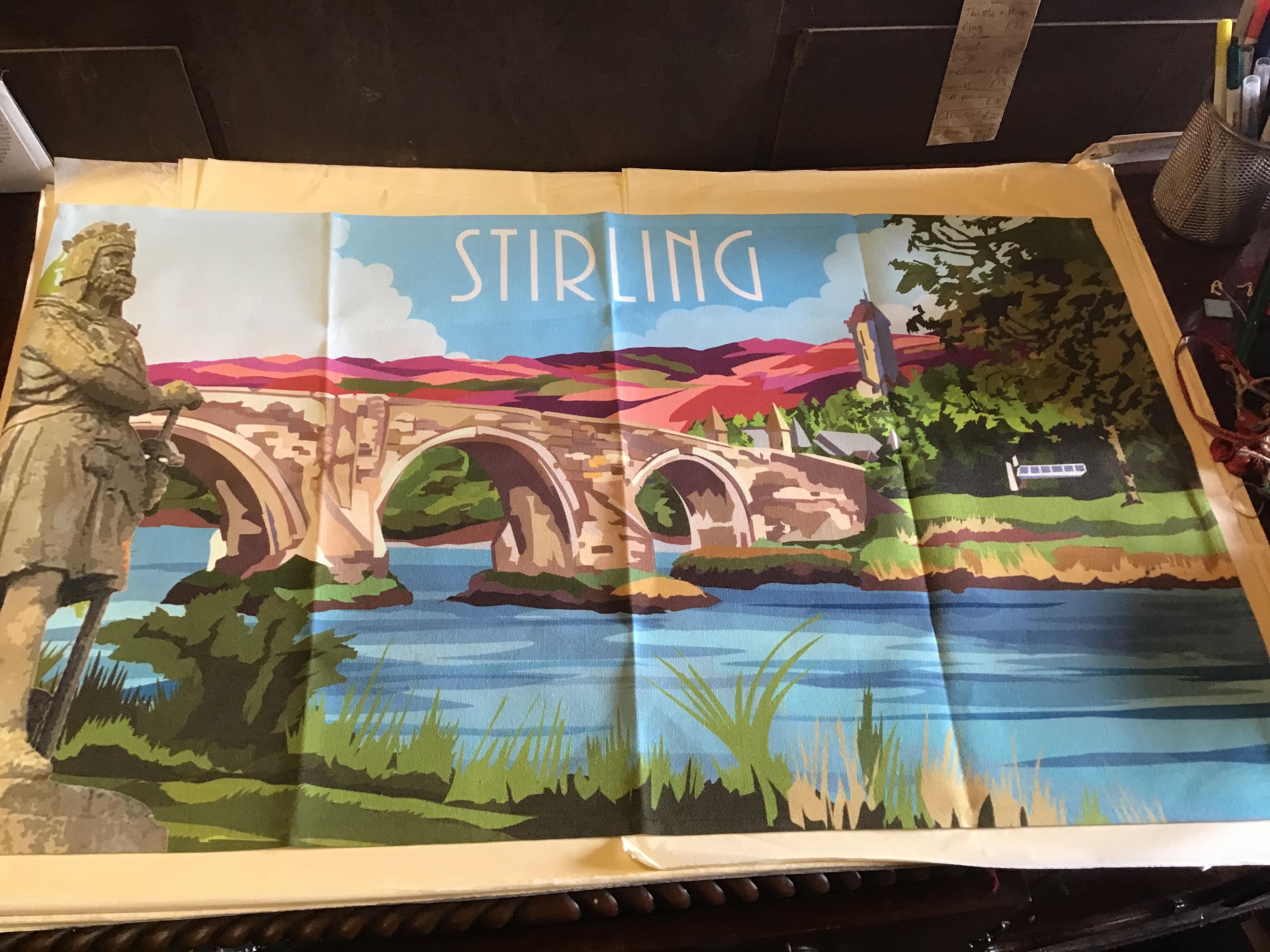 Stirling Tea Towel