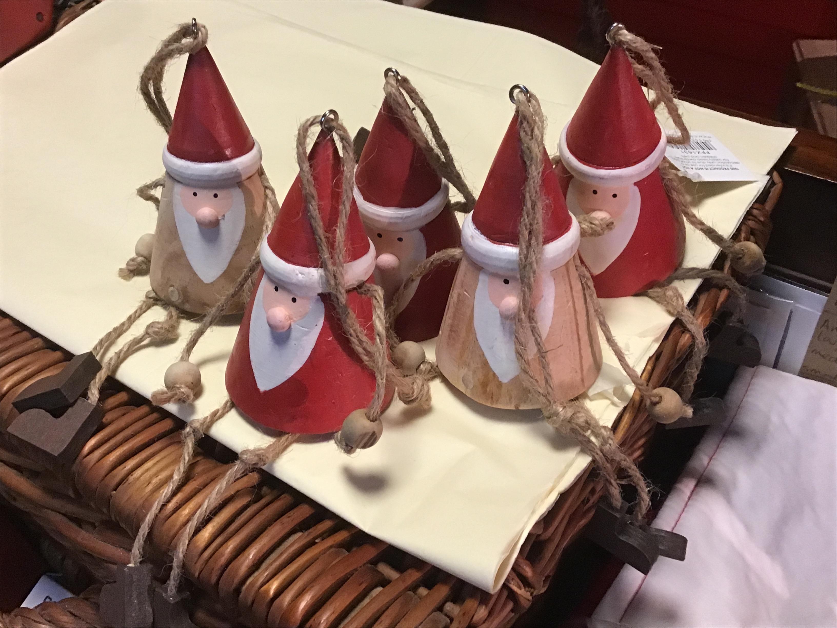Wooden Gonk Santa