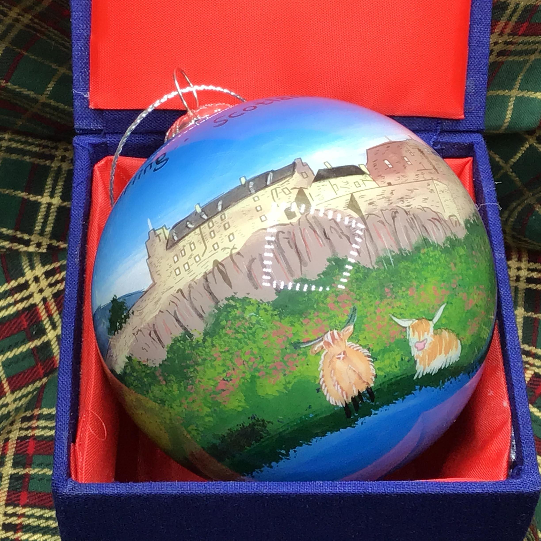 Stirling Castle & Highland Coos / Blue