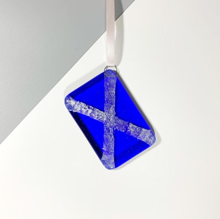 Hanging Scottish Saltire